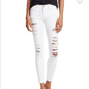 White Frame Jeans